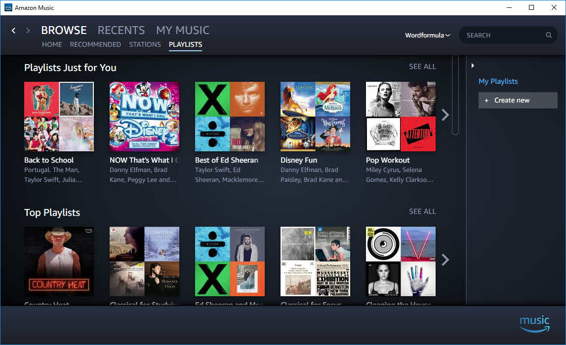Amazon Music Unlimited を使ってみた - pc …